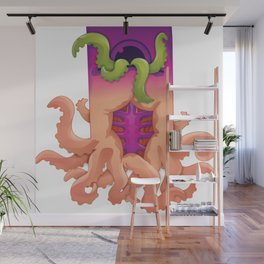 Squid Pond - Office Koi Wall Mural