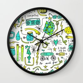 to and fro Wall Clock
