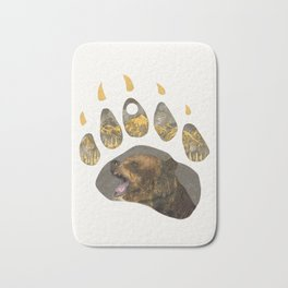 Grizzly Bear Bath Mat