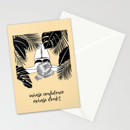EXHALE INHALE Stationery Cards