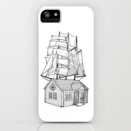 Sail House iPhone Case