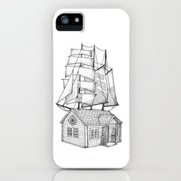 Sail House iPhone Case