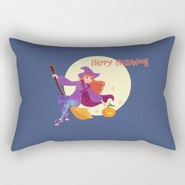 Halloween Witch Rectangular Pillow
