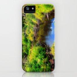 Lonesome Creek iPhone Case