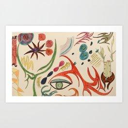 cosmic nature Art Print