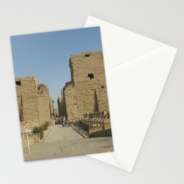 Temple of Karnak at Egypt, no. 4 Stationery Cards