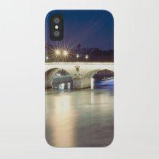 Bridges of Paris by Night Slim Case iPhone X