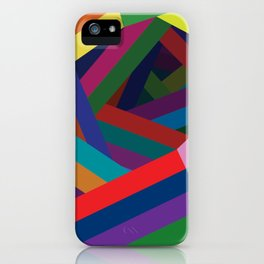 Spiral Lines iPhone Case