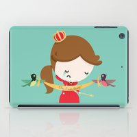 queen iPad Cases featuring QUEEN by Alfonso Cervantes