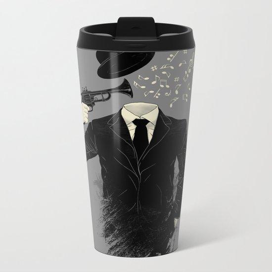 Blown Metal Travel Mug