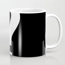 Question Mark (White & Black) Coffee Mug