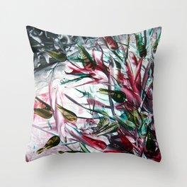 CarnivorousPlant Throw Pillow