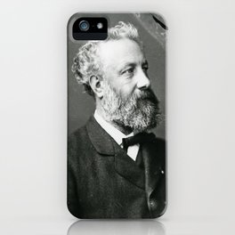 portrait of Jules Verne by Nadar iPhone Case