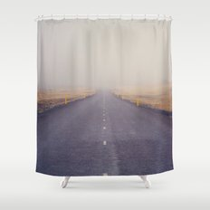 Nowhere Road Shower Curtain