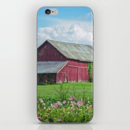 The Red Barn iPhone Skin