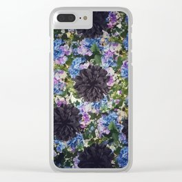 Flowers B1 Clear iPhone Case