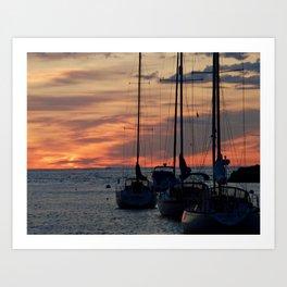 A Cape Ann Sunrise Art Print
