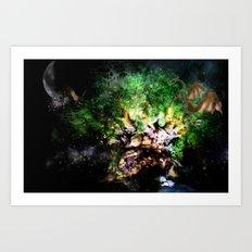 Yggdrasill Art Print