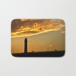Golden Sunset Bath Mat