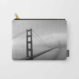 The Golden Gate Bridge In A Mist Carry-All Pouch