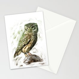 Olive Owl Stationery Cards
