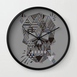 Geometric Soul Wall Clock