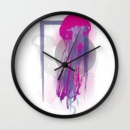 Chrysaora fuscescens Wall Clock
