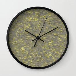 Dots Gray Wall Clock