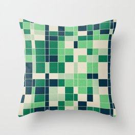 Isotope Throw Pillow