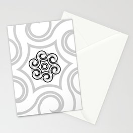 Dony Tattoo (White) Stationery Cards