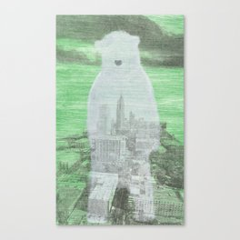Chilly City Canvas Print