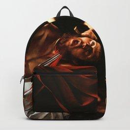 Merisi da Caravaggio - Judith enthauptet Holofernes Backpack