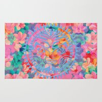 hawaii Area & Throw Rugs featuring Hawaii by Marta Olga Klara
