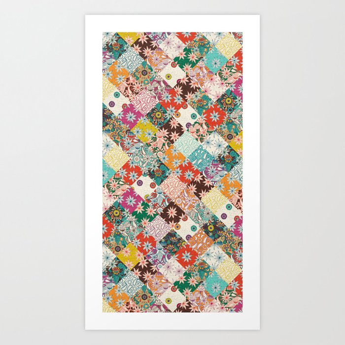 sarilmak patchwork Kunstdrucke