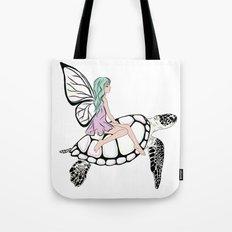 Fairy/ Turtle  Tote Bag