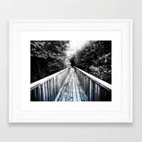onward Framed Art Prints featuring Onward by SmallIslandInTheSun