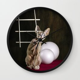 - To The Moon? Wall Clock