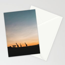 Sunrise in Kenya Stationery Cards