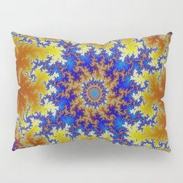 Fractal Checkerboard Pillow Sham