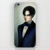 levi iPhone & iPod Skins featuring Levi Ackerman by ishali