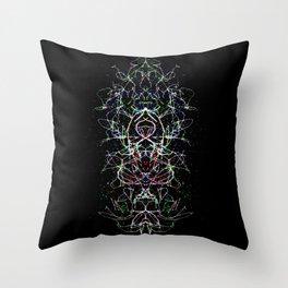 Totem Idol 1  Throw Pillow