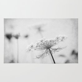 AFE Queen Anne's Lace BW Rug