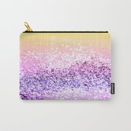 Unicorn Girls Glitter #12 #shiny #decor #art #society6 Carry-All Pouch