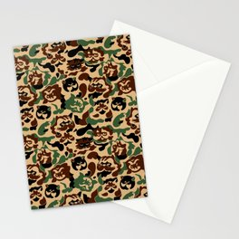 Cat Camouflage Stationery Cards