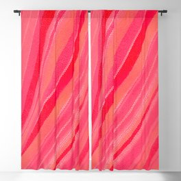 abstract stripe waves Pattern Blackout Curtain