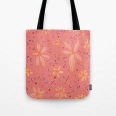 Floral 5 Tote Bag