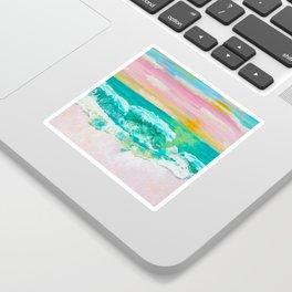 Pink Sand Sunset Sticker