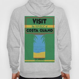 Vintage poster - Costa Guano Hoody