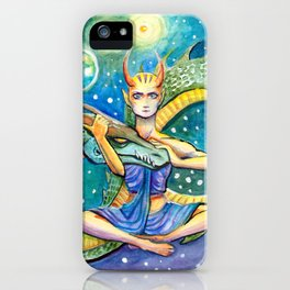 Infinity Dragon Queen iPhone Case