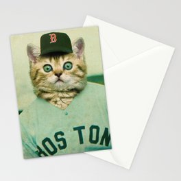 Baseball Kitten #3 Stationery Cards